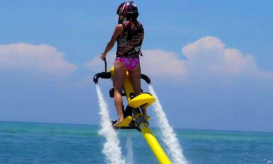 Enjoy Jetovator In Kuta Selatan, Bali