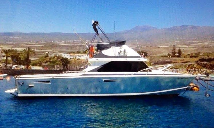 Motor Yacht rental in Guía de Isora, Tenerife