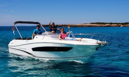 Rent 24' Deck Boat In Balearic Islands, Spain