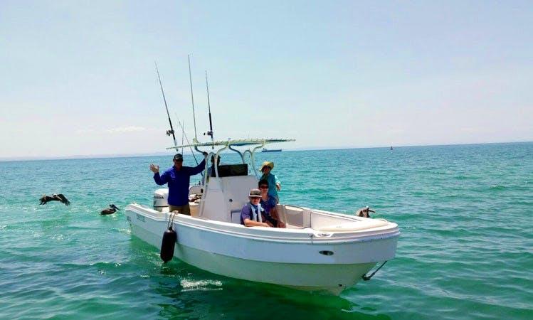 6 Person Charter Fishing Trip on Center Console in Baja California Sur, Mexico