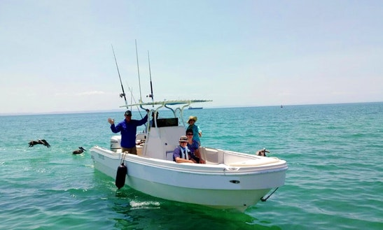6 Person Charter Fishing Trip On Center Console In Baja California Sur, Mexico