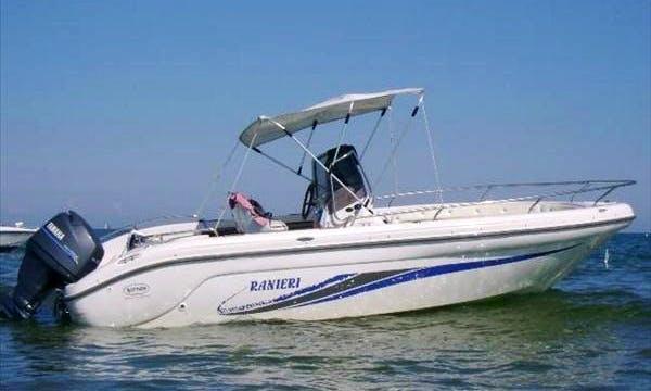 Take in the Views with this Ranieri's Stargate Deck Boat Charter in Mali Lošinj, Croatia