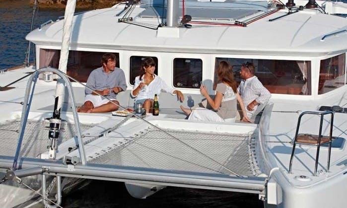 "Charter Luxury Lagoon 450 ""Opera Prima"" - Cruising Catamaran in Amalfi Coast, Italy"