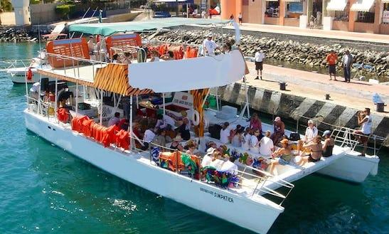 Enjoy Cabo San Lucas, Mexico On 70' Power Catamaran