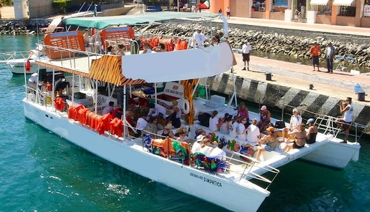 Enjoy Cabo San Lucas, Mexico On 70' Power Catamaran