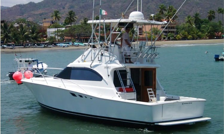 Sportfishing Charter 'HAD-E-NUFF' in Zihuatanejo