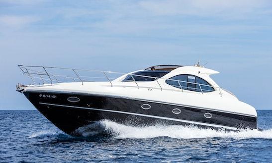 Charter 40' Primatist G41 Motor Yacht In Santa Eulària Des Riu, Spain