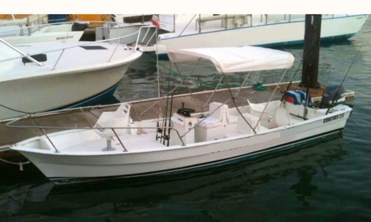 "Rent 24ft ""Sushi Time II"" Fishing Boat in Cabo San Lucas, Mexico"