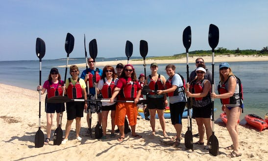 2 Hr. Deluxe Guided Kayak Tour In Southampton