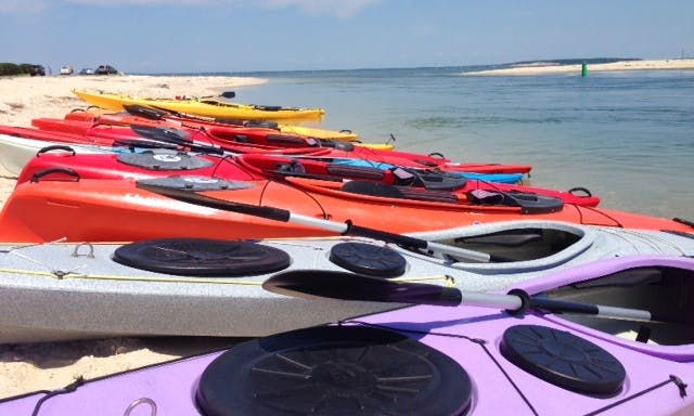 1 Hr. Guided Kayak Tour at Gold Star Battalion Beach