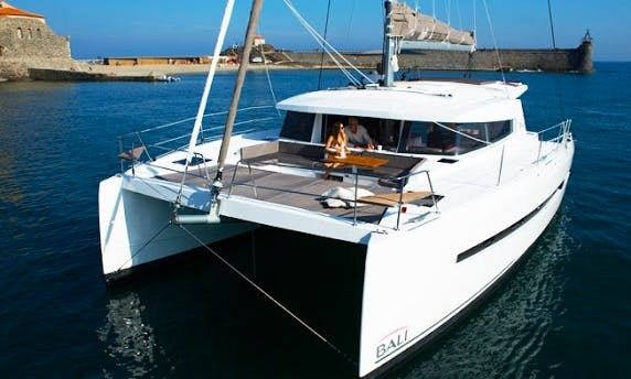Sailing Charter On 43' Bali Cruising Catamaran In Forio, Italy