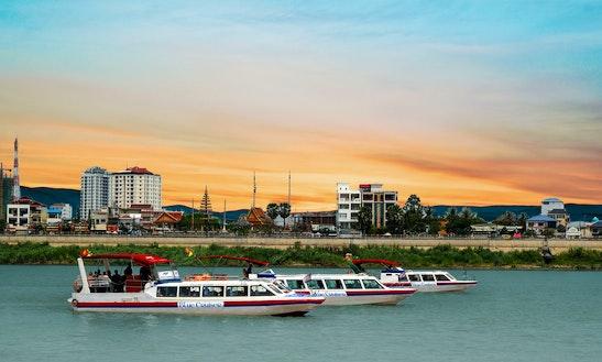 Blue Cruiser High Speedboat From Chau Doc To Phnom Penh