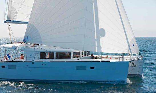 Charter Luxury Lagoon 450