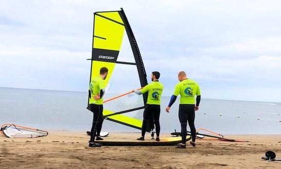 Windsurfing Lesson In Mogán, Spain