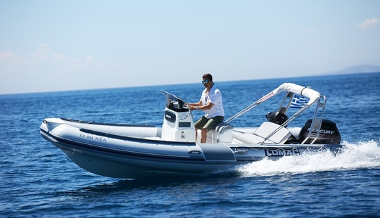 Hire The Lomac 600 Rigid Inflatable Boat In Anavissos, Greece