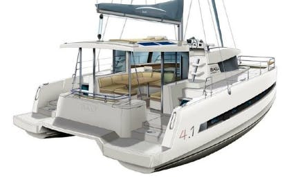 Catamaran Bali 4.1 full optional day charter too