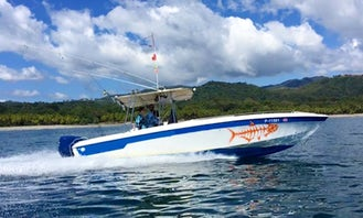 Enjoy Fishing in Guanacaste Province, Costa Rica on 32' Wellcraft Scarab Center Console