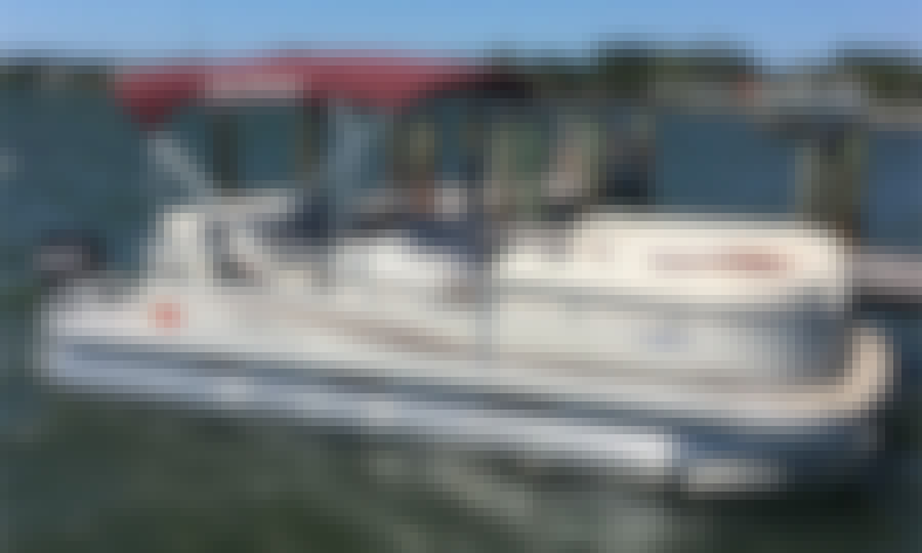 Sun Tracker 22' Signature Party Barge - SWFL Boat Rental