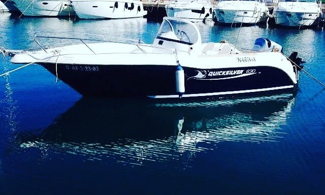 Quicksilver Commander 630 15o Cv In Torrevieja (Alicante)