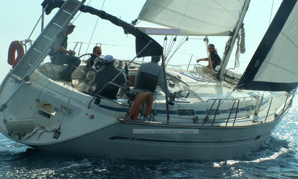 Sailing Daily Cruise with Bavaria 42 in Limenaria, Thassos
