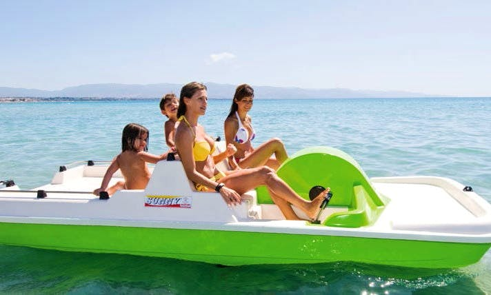 Pedal Boat Rental in Chania