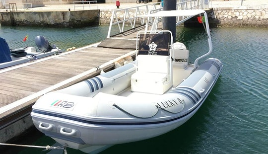 2002 Rib Rental For Up To 12 Guests In Setúbal, Portugal