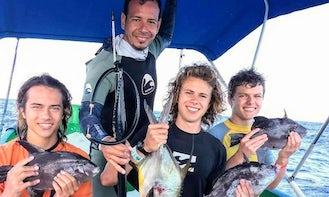 Fun Spearfishing Trip in Playa del Carmen, Mexico