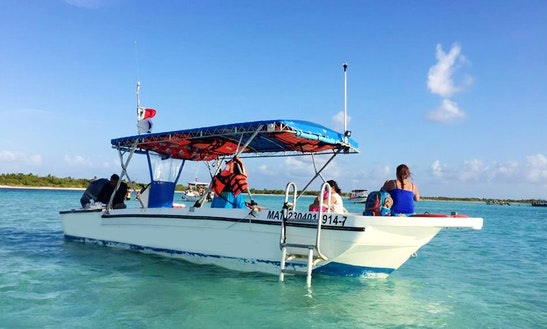 Enjoy Glass Bottom Boat Tours In Quintana Roo, Mexico