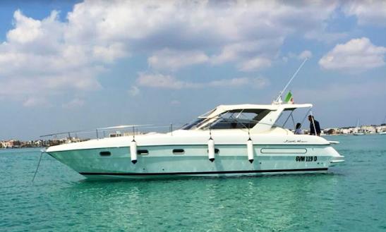 Charter 31' Fiat Motor Yacht In Porto Cesareo, Puglia