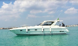 """ALL INCLUSIVE FORMULA,YACHT """"LA DOLCE VITA"""" Motor Yacht in Porto Cesareo, Puglia"""