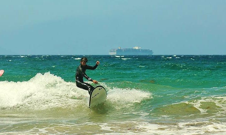 Surfing Lesson In Tarifa, Spain