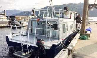 "Enjoy Fishing On 37ft ""Tiburon"" Trawler In Winters Harbour, Canada"