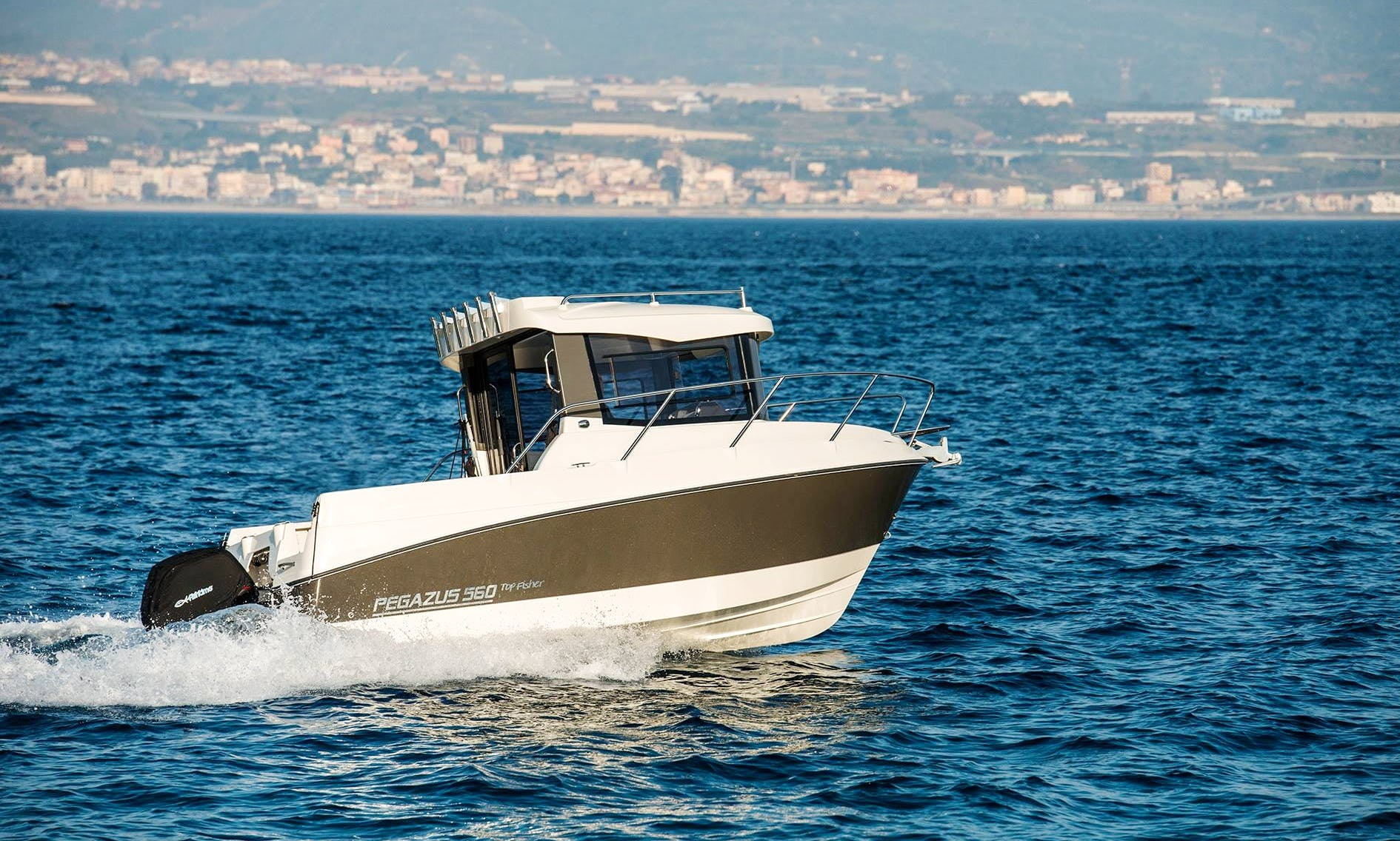 Pegazus 560 Top Fisher for Rent in Messina