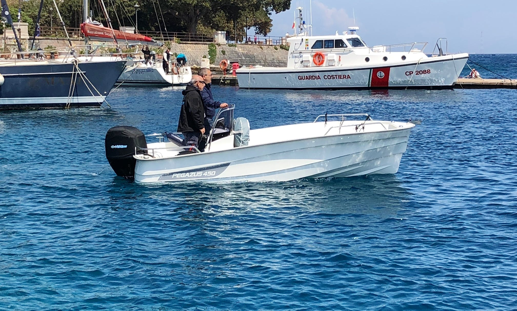 Walk Around fishing charter in Messina, Italy