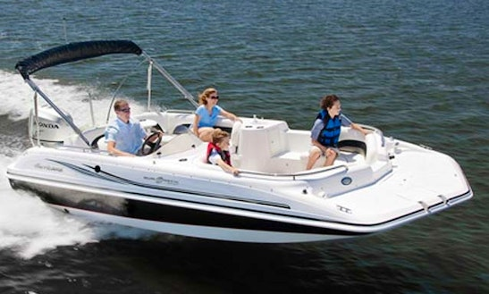 Hurricane Deck Boat 20ft - Fully Equipped Deck Boat