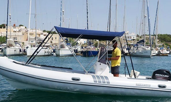 Charter a Rigid Inflatable Boat in Leuca, Italy