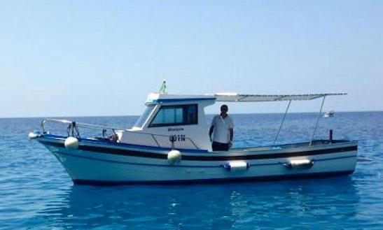 Charter 24' Cuddy Cabin In Marettimo, Italy