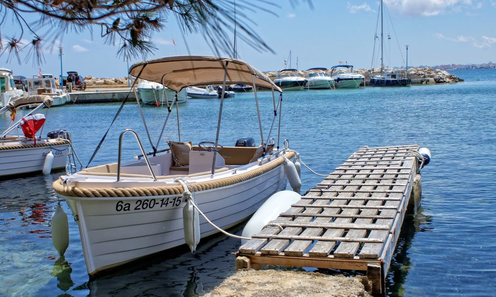 Take in the Views with this Center Console Charter in Sant Joan de Labritja, Spain