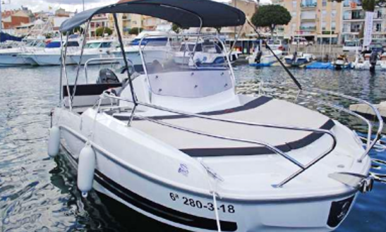Rent 21' Flyer Space & Sun Pelaia & Galera Boat In Sant Feliu De Guíxols, Spain