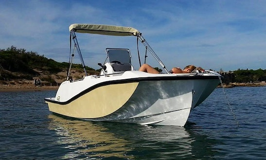 Enjoy A 16' V2 Center Console Rental In La Savina, Spain With Up To 5 People