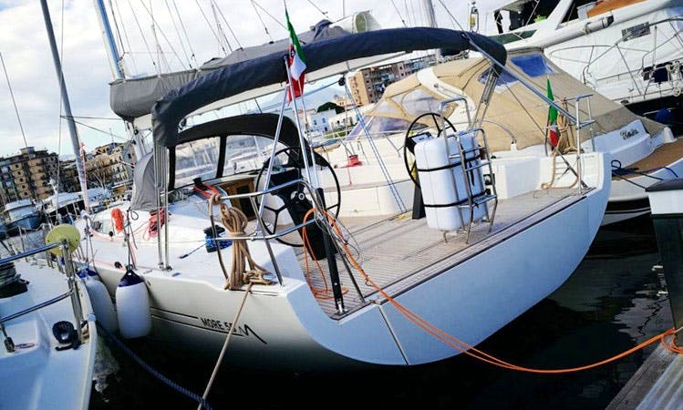 Charter 55' One More Cruising Monohull in Palermo, Italy