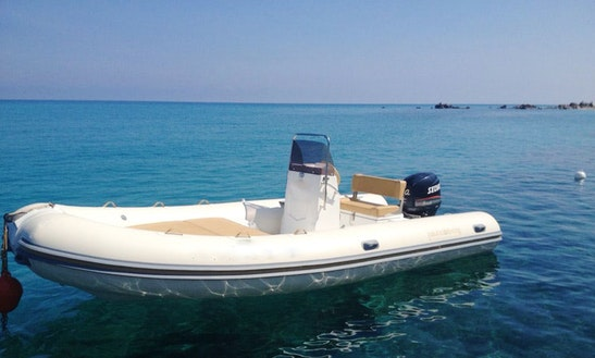 Charter Nautica Diving Rigid Inflatable Boat In Tropea, Italy