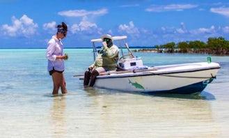 Enjoy Fishing in Exuma, Bahamas on Center Console