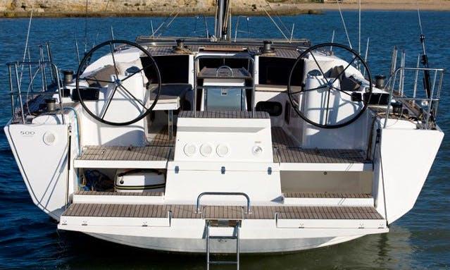 Charter Dufour 500 Grand Large - Andante Cruising Monohull in Rogoznica, Croatia