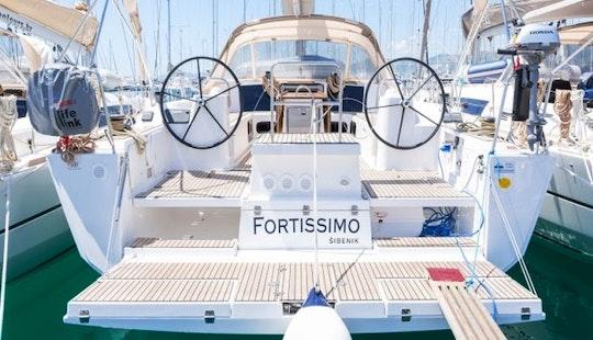 Charter Dufour 500 Grand Large - Fortissimo Cruising Monohull In Rogoznica, Croatia