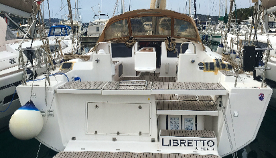 Charter Dufour 460 Grand Large - Liberto Cruising Monohull In Rogoznica, Croatia