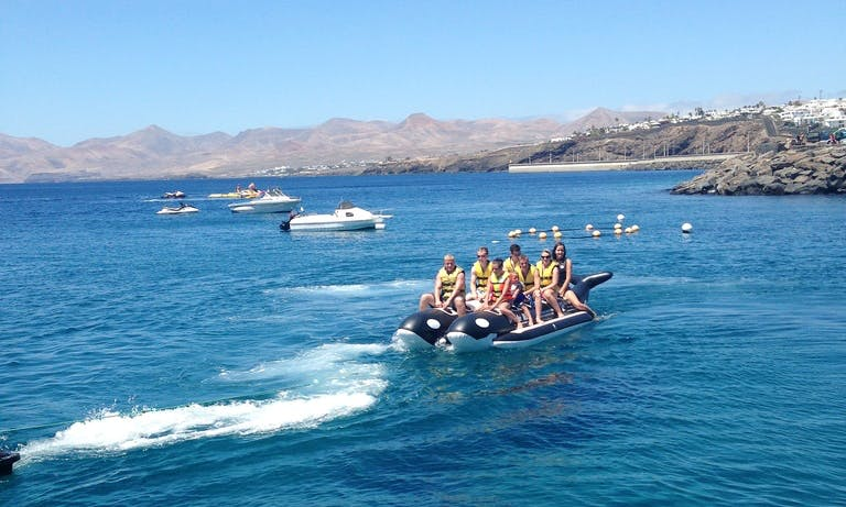 Enjoy Tubing in Tías, Spain