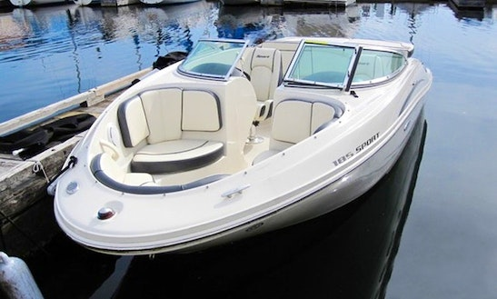 Sea Ray Boat 185 Sport Br For 8 People In Seattle, Washington