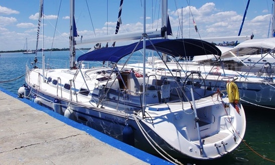 Charter 46' Bavaria Cruising Monohull In Cienfuegos, Cuba