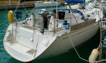 Charter Dufour 385 Cruising Monohull in Messina, Italy